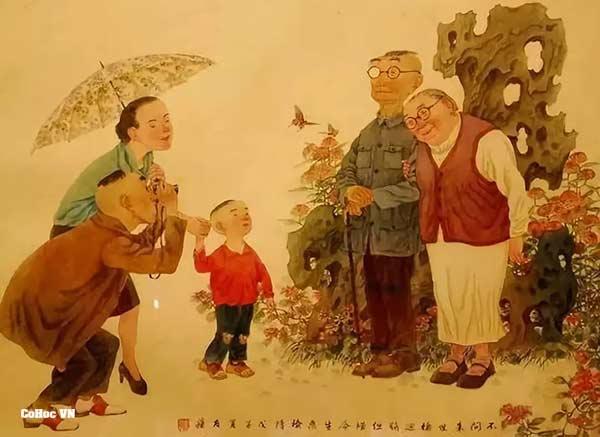 Xem - Luận Cung Phụ Mẫu Vô Chính Diệu - Cổ Học Phương Đông